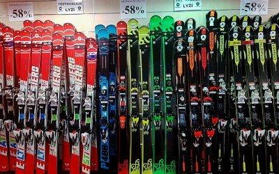 Prodáváme testovací lyže!!